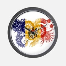 Moldova Flag Wall Clock