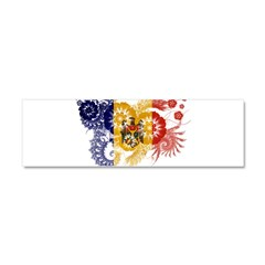 Moldova Flag Car Magnet 10 x 3