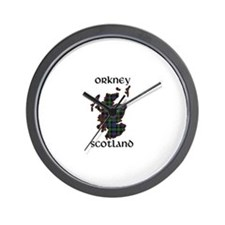Funny Edinburgh Wall Clock
