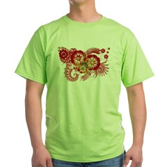 Montenegro Flag Green T-Shirt
