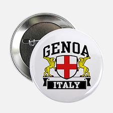 """Genoa Italy 2.25"""" Button"""