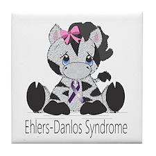 Ehlers-Danlos Syndrome Cutie Tile Coaster