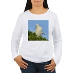 Great Egret Women's Long Sleeve T-Shirt