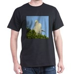 Great Egret Dark T-Shirt