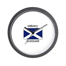 Funny Edinburgh Wall Clock