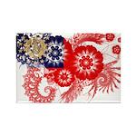 Myanmar Flag Rectangle Magnet (100 pack)