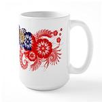 Myanmar Flag Large Mug
