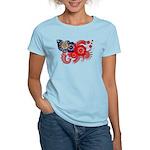 Myanmar Flag Women's Light T-Shirt