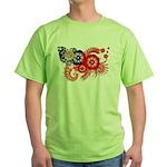 Myanmar Flag Green T-Shirt