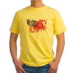 Myanmar Flag Yellow T-Shirt