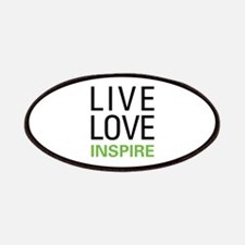 Live Love Inspire Patches