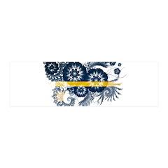 Nauru Flag 42x14 Wall Peel