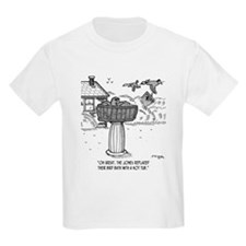 Replace Bird Bath With a Hot Tub T-Shirt