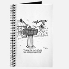 Replace Bird Bath With a Hot Tub Journal