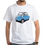 IsettaSlidingBluDkGry_LARRY T-Shirt