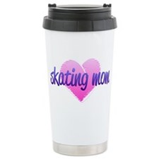 Skating Mom 2 Travel Coffee Mug