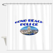 Long Beach Police Shower Curtain