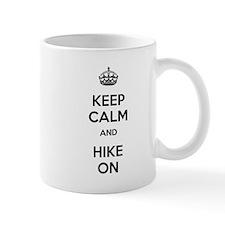 Keep Calm and Hike On Mug