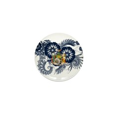 New York Flag Mini Button (100 pack)
