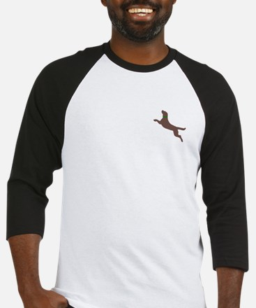 Dock Jumping Dog Baseball Jersey