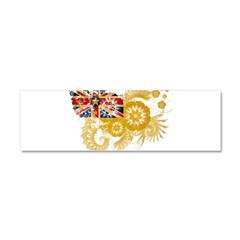 Niue Flag Car Magnet 10 x 3
