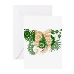 Norfolk Island Flag Greeting Cards (Pk of 20)