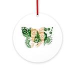Norfolk Island Flag Ornament (Round)