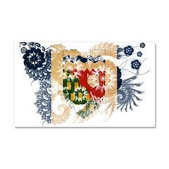 Northwest Territories Flag Car Magnet 20 x 12