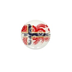 Norway Flag Mini Button (100 pack)