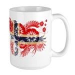 Norway Flag Large Mug