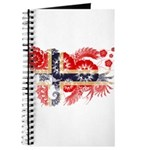 Norway Flag Journal