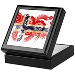 Norway Flag Keepsake Box
