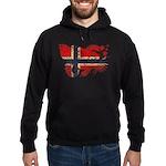 Norway Flag Hoodie (dark)