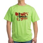 Norway Flag Green T-Shirt