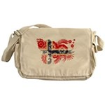 Norway Flag Messenger Bag