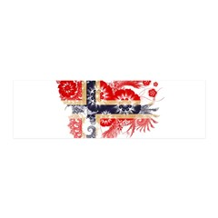 Norway Flag 42x14 Wall Peel