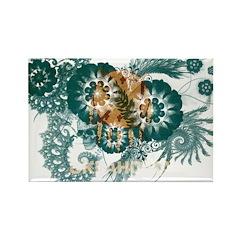 Oklahoma Flag Rectangle Magnet (100 pack)