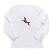 Dock Jumping Dog Long Sleeve Infant T-Shirt