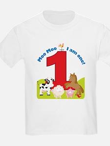 Barnyard 1st Birthday T-Shirt