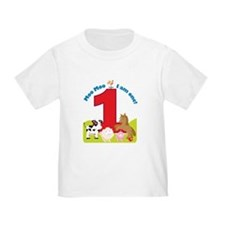 Barnyard 1st Birthday T
