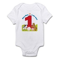 Barnyard 1st Birthday Infant Bodysuit