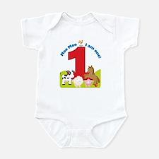Barnyard 1st Birthday Infant Bodysuit
