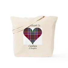 Heart - Gordon of Abergeldie Tote Bag