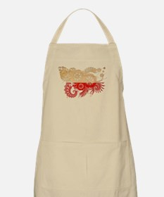 Poland Flag Apron
