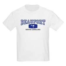 Beaufort South Carolina, Palmetto State Flag T-Shirt