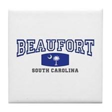 Beaufort South Carolina, Palmetto State Flag Tile