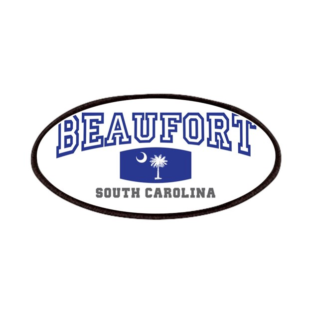 Beaufort South Carolina, Palmetto State Flag Patch By