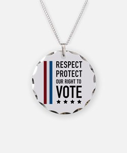Respect and Protect our right Necklace
