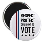 Respect and Protect our right Magnet