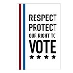 Respect and Protect our right Postcards (Package o